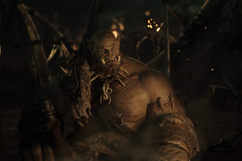Illustration for article titled Meet Orgrim The Orc In This Amazing First Peek At The Warcraft Movie