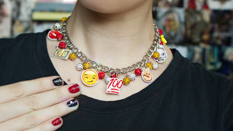 Illustration for article titled A Buyer's Guide to Emoji Jewelry