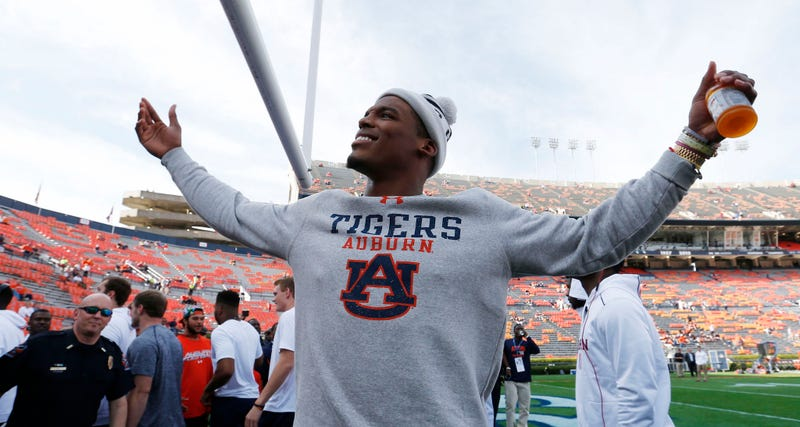 Illustration for article titled Cam Newton Snaps At Heckling Alabama Fan