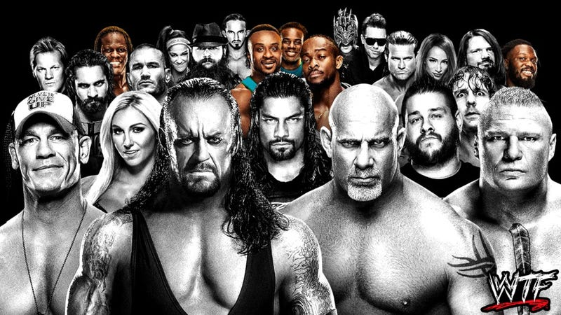 Photo Illustration by Elena Scotti/The Root/GMG; photos via WWE