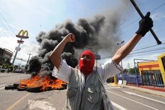 """Illustration for article titled Obama """"Deeply Concerned"""" After Honduran President Overthrown"""