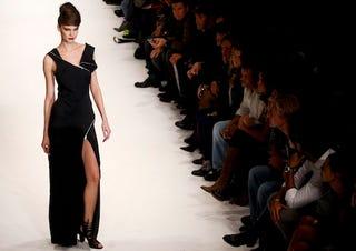 Illustration for article titled Lisbon Fashion Week: Black, White & Elegant All Over