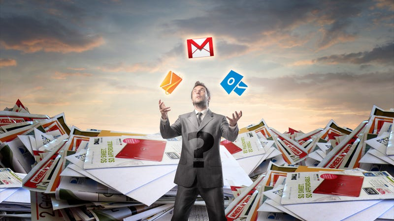 Illustration for article titled How Many Inboxes Do You Deal With?
