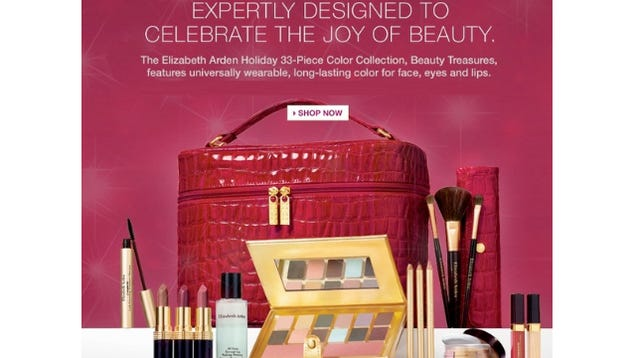 Woman Upset By Elizabeth Arden's Crappy Free Gift