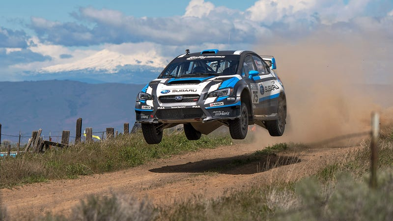 Illustration for article titled These Subaru Rally Photos Will Blow Your Mind
