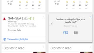 Illustration for article titled Google Now Adds Flight Price Tracking for Google Flight Users