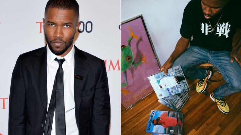 Illustration for article titled Frank Ocean Has a New Album and Magazine Coming This Summer