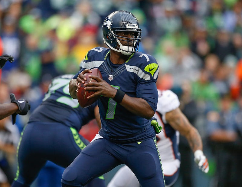 Quarterback Tarvaris Jackson of the Seattle Seahawks in 2015Otto Greule Jr/Getty Images