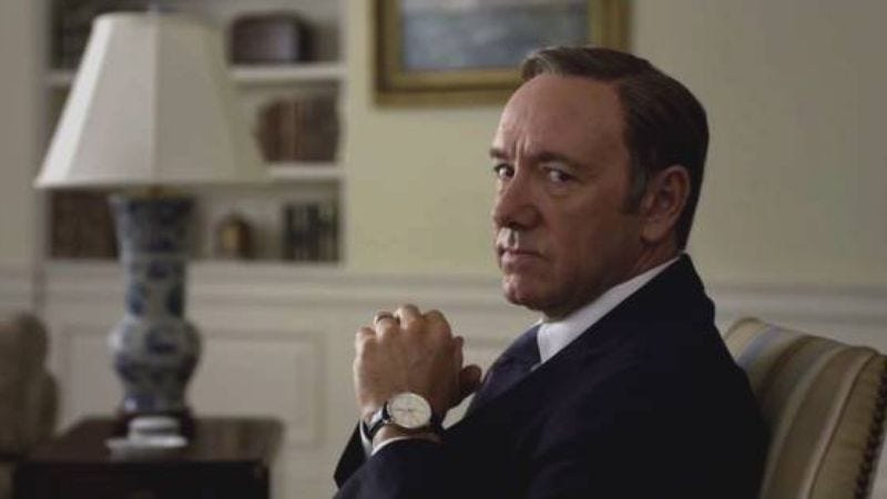 Illustration for article titled House Of Cards' third season leaked to Netflix as cunning test of your loyalty