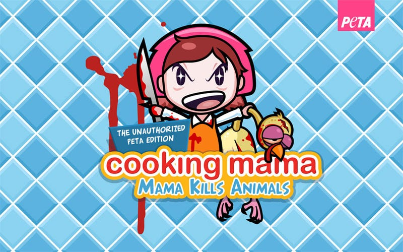 Illustration for article titled Cooking Mama Kills Animals - Happy Thanksgiving From PETA