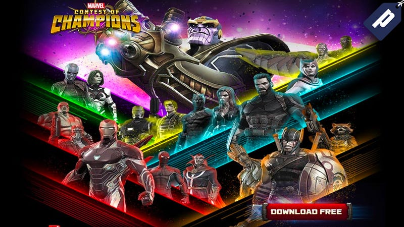 Illustration for article titled Download The Marvel Contest Of Champions Game To Battle With Your Favorite Characters