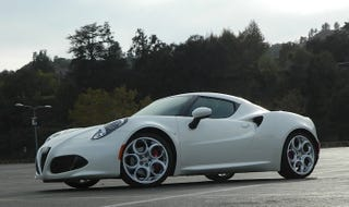 Illustration for article titled I Drove The Alfa Romeo 4C On The Track