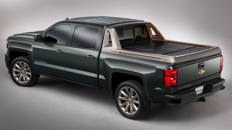 Chevy AvalancheStyle 2015 Chevy Silverado Looks Surprisingly Good