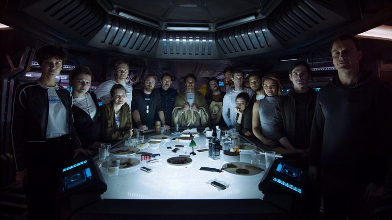 Illustration for article titled All These People Are Probably Going to Die in Alien Covenant