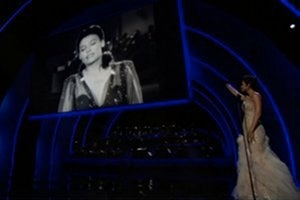 Oscar winner Halle Berry pays tribute to legend Lena Horne.