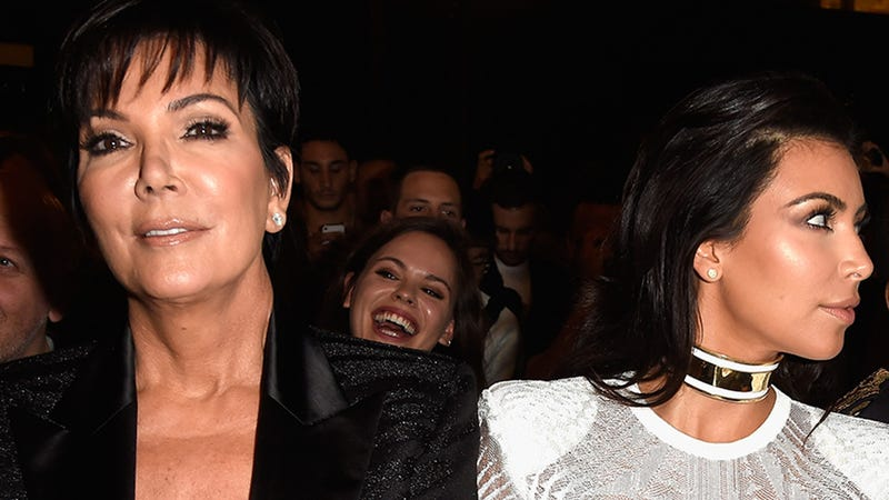 Illustration for article titled Kris Jenner and Kim Kardashian Are Officially Sworn Enemies
