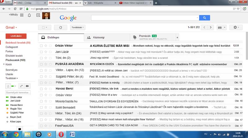 Illustration for article titled Mindig is szerettél volna belenézni Varga Mihály e-mail fiókjába?