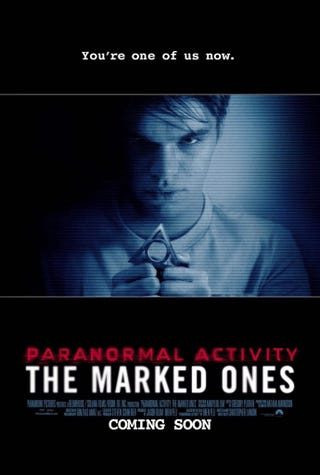 Illustration for article titled I saw Paranormal Activity:The Marked Ones(More spoilers than are necessary)