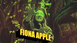 Illustration for article titled Fiona Apple is on a French tv show about Superheroes