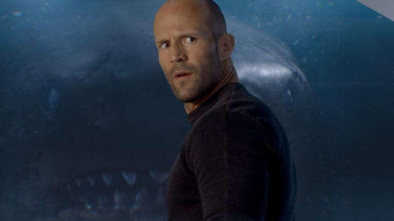 Illustration for article titled Jason Statham fighting a giant shark should be a lot more fun than The Meg