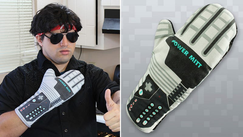 Illustration for article titled This Power Glove Oven Mitt Guarantees You're a Wizard In the Kitchen