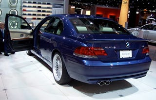 Chicago Auto Show The BMW Alpina B Because Theres No Such Thing - Bmw m7 alpina