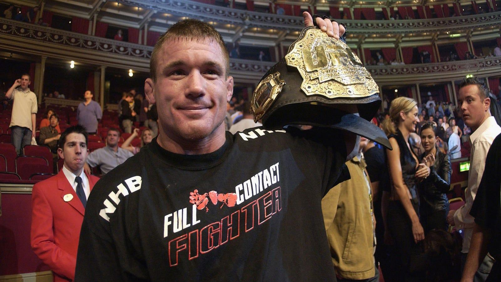UFC Icon Matt Hughes Airlifted...
