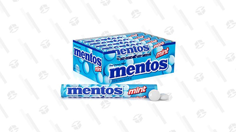 Mentos Chewy Mint Candy Roll (Pack of 15) | $8 | Amazon | Clip the 25% off coupon