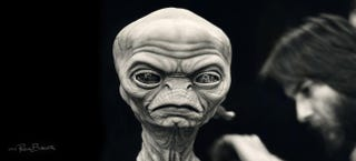 Illustration for article titled The very first E.T. designs would have scarred every kid's brain forever