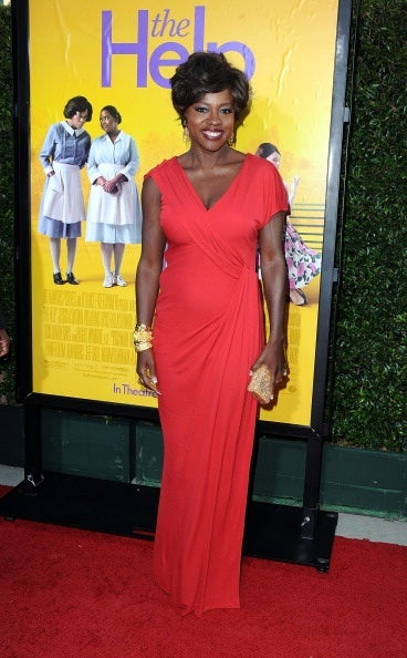 Viola Davis at the premiere of The Help (Getty Images)