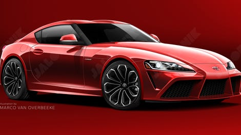 Exclusive Heres The Best Look Yet At The New Toyota Supra