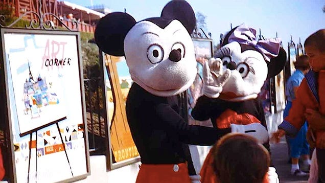 Throwback Thursday Classic Mickey And Minnie Costumes Disneyland