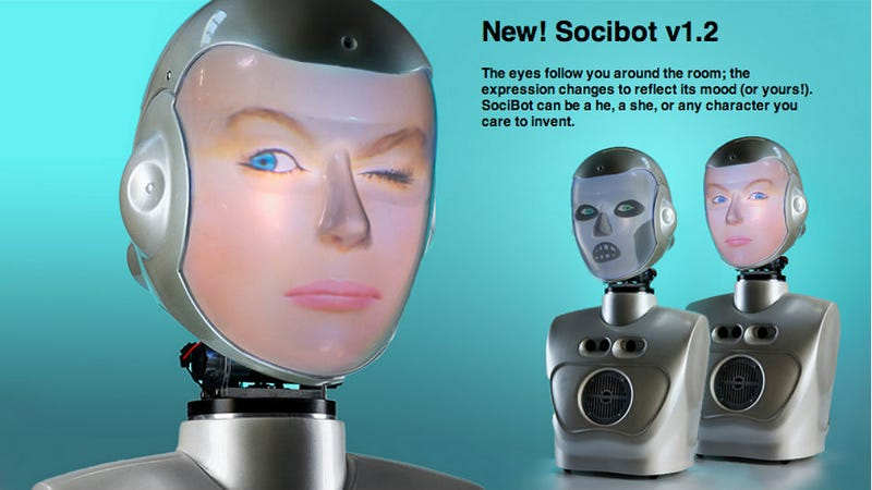 Illustration for article titled Got a Weird Facial Expression? There's a Robot for That.