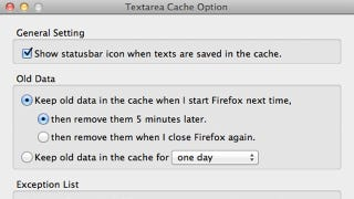 Illustration for article titled Textarea Cache Saves Text Entered into Web Forms, Blog Comments