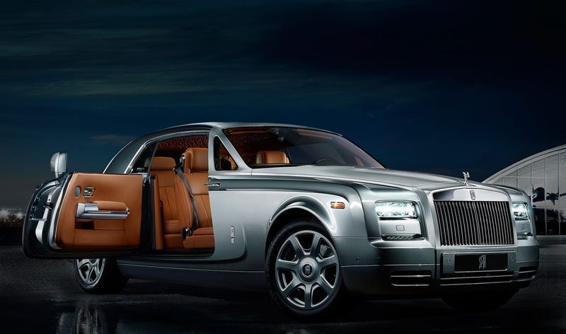 Rolls Royce Phantom Coupe, not the concept in question