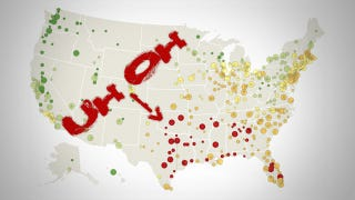 Where You Should Live If You Want To Avoid A Natural Disaster - Map natural disasters us