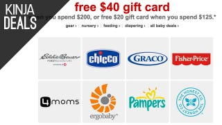 Buy Some Baby Gear, Get Bonus Target Gift Cards