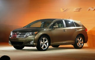Illustration for article titled Detroit Auto Show: 2009 Toyota Venza Crossover Sedan