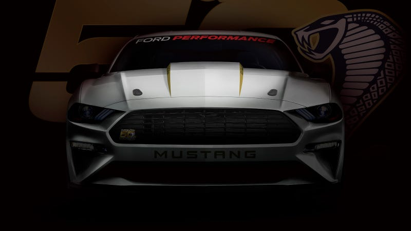 The 2018 Ford Mustang Cobra Jet Will Do An Eight-Second Quarter Mile