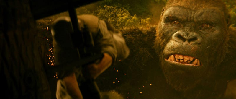 Kong has bigger problems than Skull Island in his future. Image: Warner Bros.