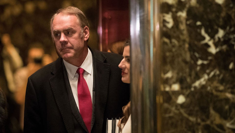 Who the Hell Is Ryan Zinke Trumps Pick for Secretary of the Interior
