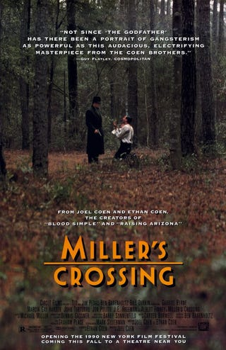 Illustration for article titled Your (Weekly) Autumn Movie Guide to Movies You Should Watch Again: Miller's Crossing