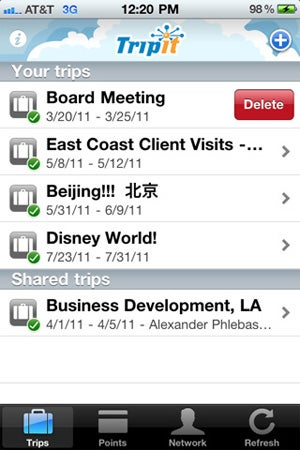 Illustration for article titled TripIt for iPhone Now Allows On-Phone Trip Editing and