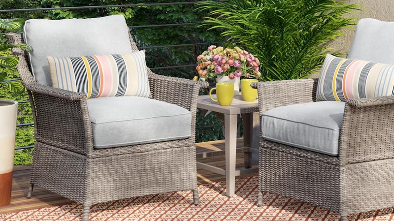 Foxborough 3-Piece Patio Set | $374 | Target | Coupon Code APRIL15% off Target Outdoor Living Items | Promo code APRIL