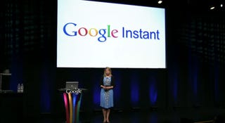 Illustration for article titled Live: Google Instant Streaming Search Results Eliminate the Search Button