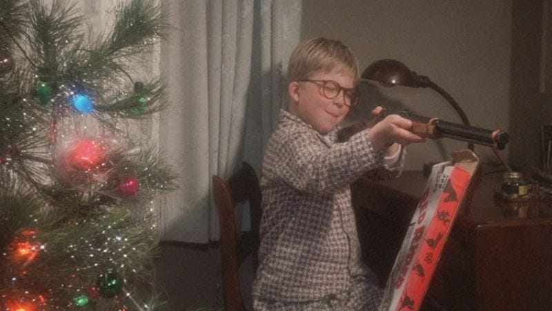 A Christmas Story stayed on the kid side of a coming-of-age book
