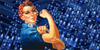 Illustration for article titled Does 18F Pass the Bechdel Test for Tech?