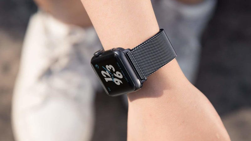Milanese Loop Apple Watch Bands | $4 | Amazon | Promo code KUBJGNG2. Multiple colors and sizes available.
