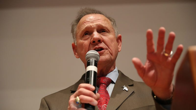"Illustration for article titled Roy Moore refuses to take ""no"" for an answer, as usual"
