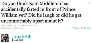 Illustration for article titled Has Kate Middleton Farted In Front Of Prince William Yet?